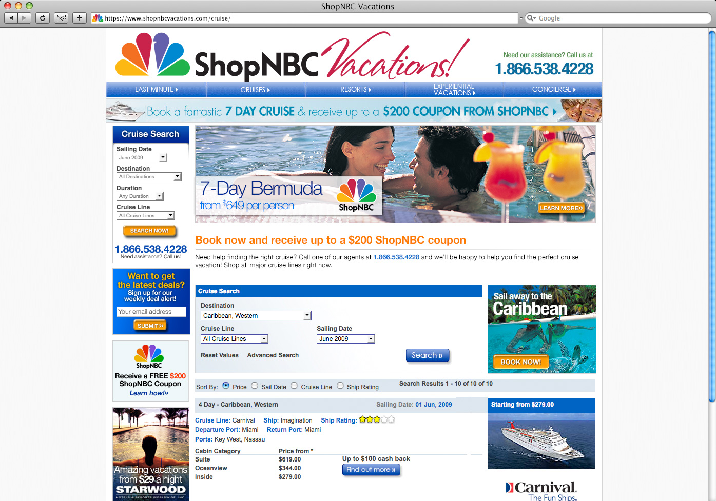 ShopNBC-Vactions-Cruise-Home